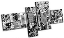 Cityscape Abstract Illustration - 13-0462(00B)-MP09-LO